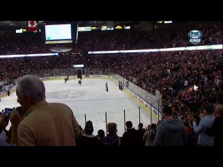 Nail Yakupov goal  LA Kings vs Edmonton Oilers NHL / Наиль Якупов забил за пять секунд до сирены, 2 шайба в сезоне